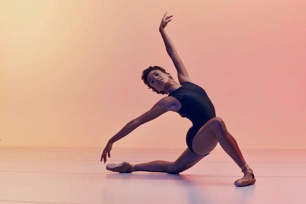 A bailarina brasileira Miranda Silveira, que integra o San Francisco