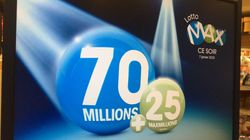 Lotto Max: tirage du gros lot record de 70 millions $ ce