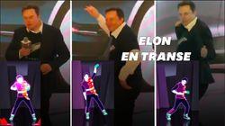 Elon Musk danse objectivement mal mais ses salariés ont