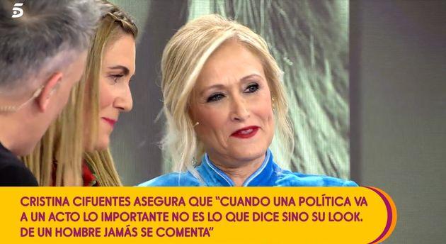 Cristina Cifuentes en