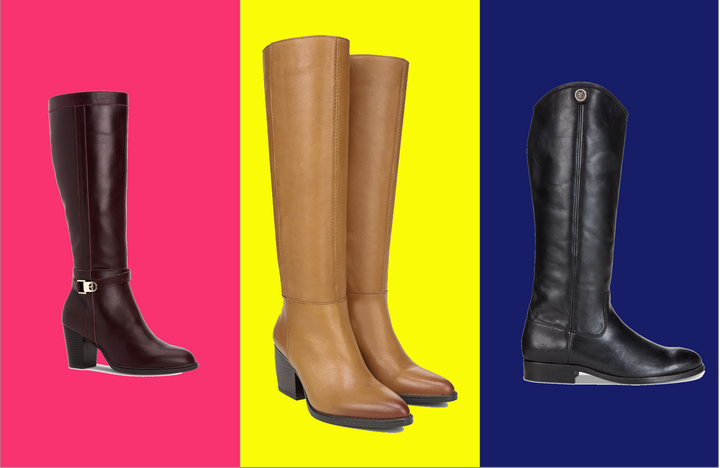 We found knee-high boots for wide calves that won't have you dreaming of a foot massage by the end of the day.