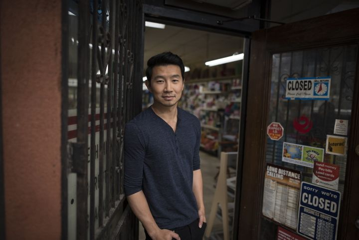 Actor Simu Liu of Kim's Convenience, poses for a photograph on set in Toronto.