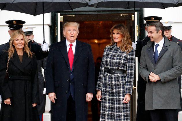 Στο Λευκό Οίκο ο Κυριάκος Μητσοτάκης - Τραμπ: «Στενότερες παρά ποτέ οι σχέσεις