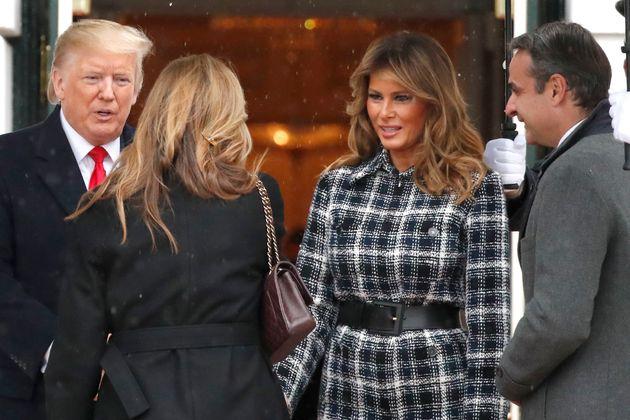 Η επίσκεψη του Κυριάκου και της Μαρέβας Μητσοτάκη στο Λευκό Οίκο σε