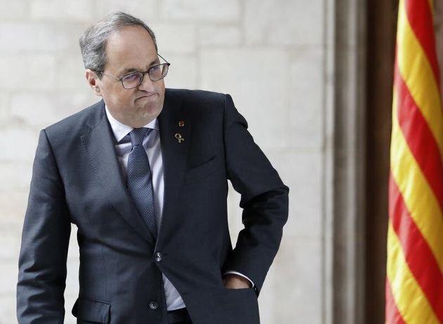 El presidente de la Generalitat, Quim Torra. EFE/ Andreu