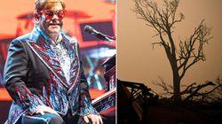 Elton John Donates $1 Million To Australian Bushfire