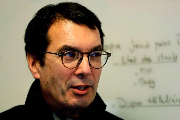 Le PDG de la SNCF Jean-Pierre Farandou à Paris le 4 décembre