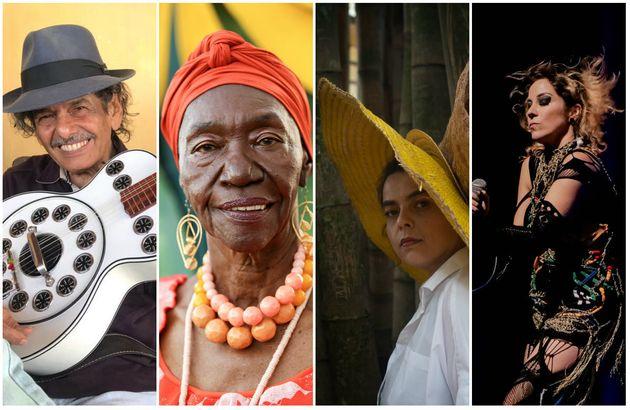 Rodger Rogério, Lia de Itamaracá, Ava Rocha e Karina Buhr - artistas reverenciam nordeste...
