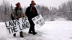 Hereditary Chiefs Say Coastal GasLink Not Allowed On Their