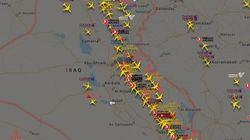 미국 연방항공청이 이란·이라크 영공에 비행금지 구역을