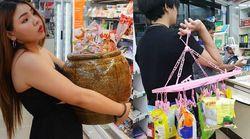 비닐봉지 사용 금지되자 태국인들이 선택한 혁신적인 도구들 (사진