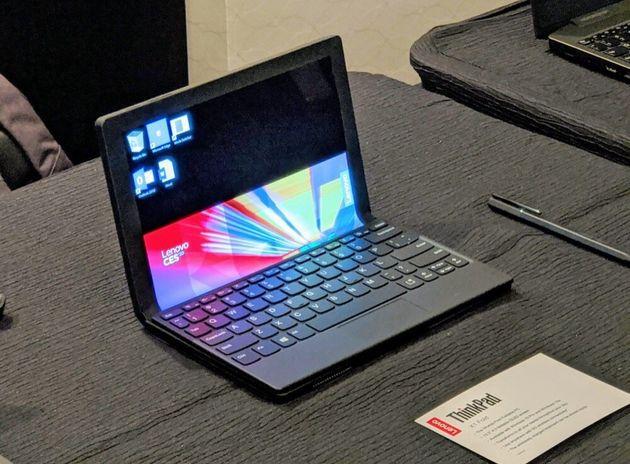 折りたたみ画面ノートThinkPad X1