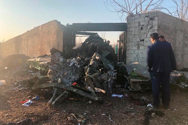 A Ukrainian airplane carrying at least 170 people crashed on Wednesday shortly after takeoff from Tehran's...