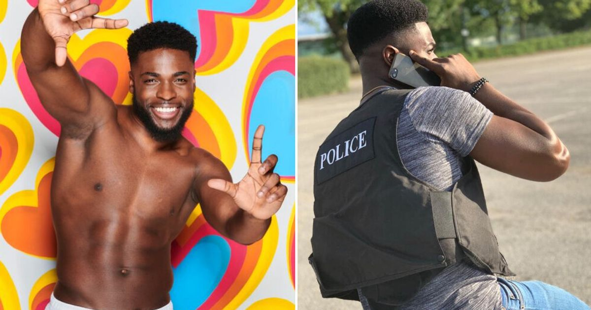 Love Island Why Mike Boateng S Police Job Was A Training Ground For Life In The Villa Huffpost Uk