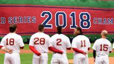 Red Soxの下で調査したとして働いて稼が2018年大会の季節
