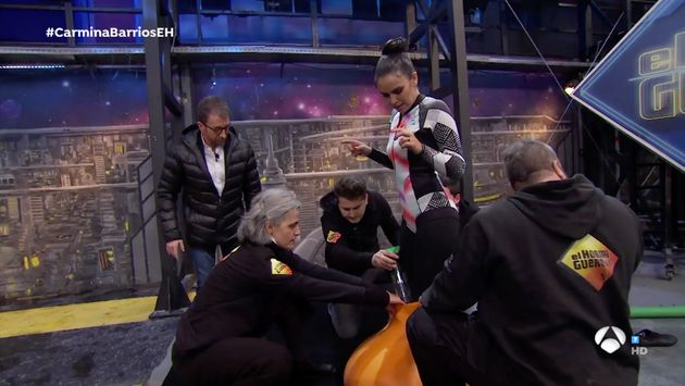 La sección de Cristina Pedroche en 'El Hormiguero' del 7 de enero de