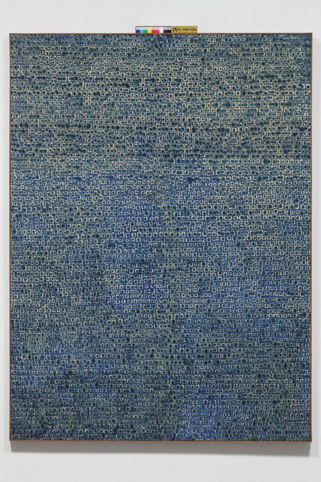 김환기_16-IV-70 #166, 코튼에 유채, 236x172cm,1970 (어디서 무엇이 되어 다시 만나랴