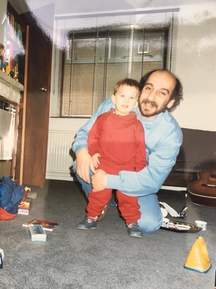 The author and his father