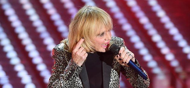 SANREMO, ITALY - FEBRUARY 11: Rita Pavone attends the closing night of 67th Sanremo Festival 2017 at...