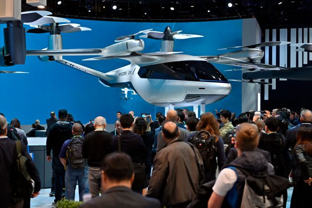 Uber και Hyundai παρουσίασαν το πρώτο ιπτάμενο