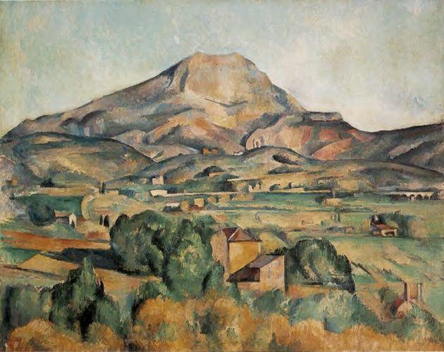 La montagne Sainte Victoire, vue par Paul