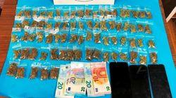 «Σκούπα» στην πλατεία Εξαρχείων: Βρέθηκαν 75 συσκευασίες