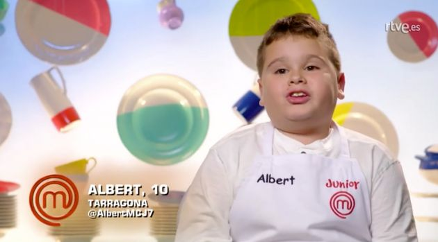 Albert, de 'MasterChef Junior