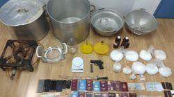 Βρέθηκε το εργαστήριο του θανατηφόρου «shisha» στο κέντρο της