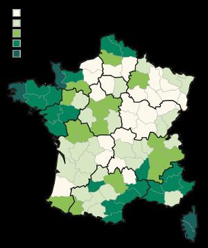 L'évolution des surfaces forestières en France de 1985 à