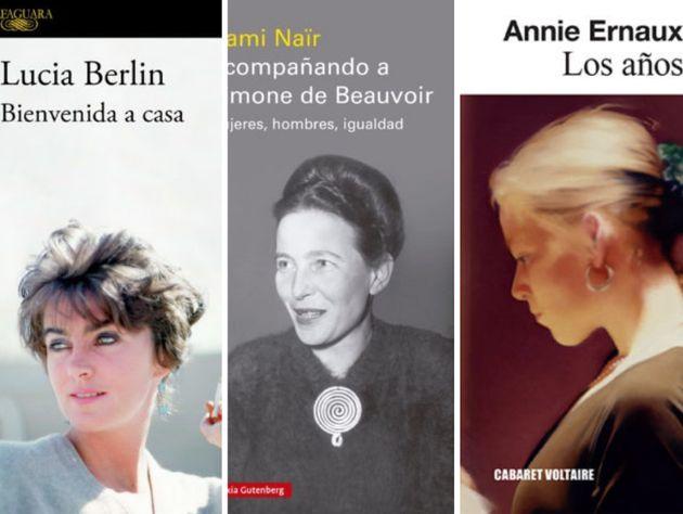 Vidas de escritoras: Hermanas Brontë, Simone de Beauvoir, Lucia Berlin, Pardo