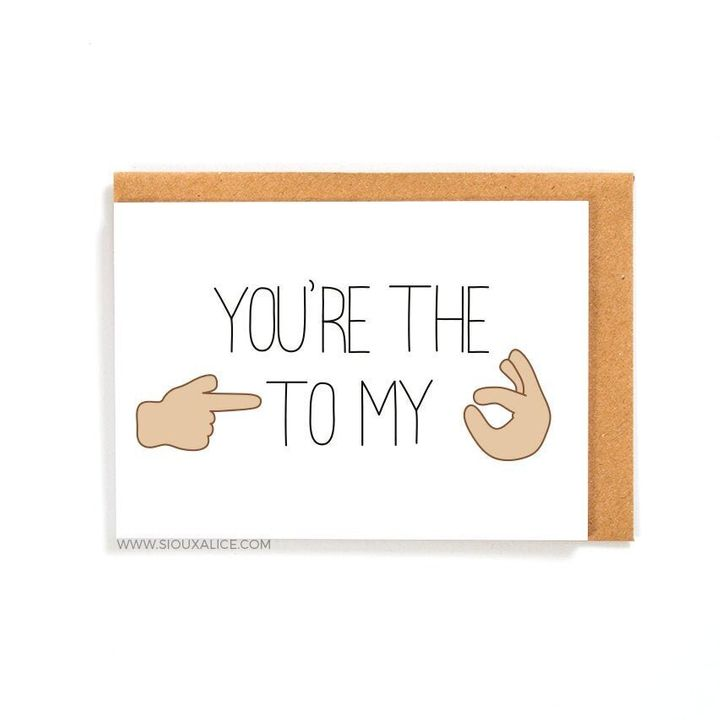 Funny Valentines day card, Etsy