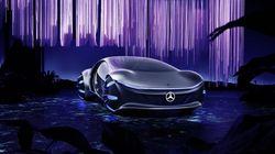 James Cameron et Mercedes-Benz dévoilent une voiture