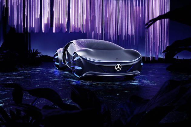 La Mercedes-Benz Vision