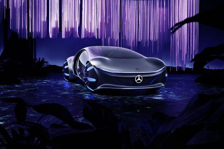 La Mercedes-Benz Vision AVTR.