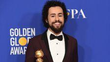米中の2020年にはTSAの画面Ramy Youssefのゴールデン-グローブ賞