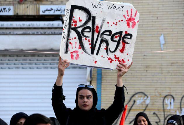 Iraniana expressa que quer