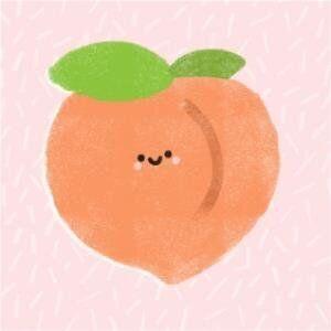 Feeling Fruity Peach Card, Moonpig