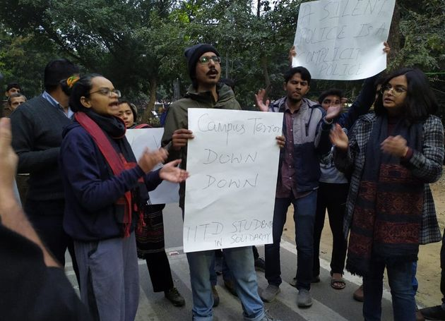 The IIT-Delhi protest was mirrored by similar demonstrations at IIT-Madras, IIT-Bombay, IIT-Gandhinagar...
