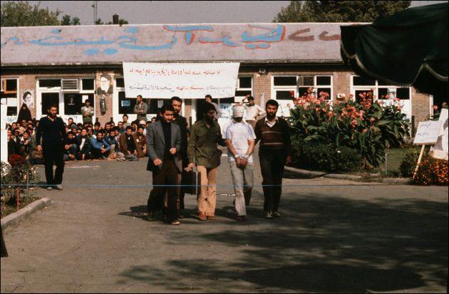 Tomada de reféns na Embaixada Americana e manifestação em Teerã, Irã...