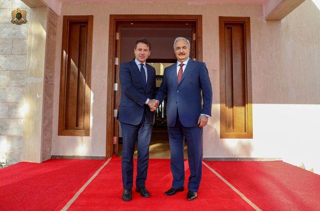 Haftar da Conte a Palazzo Chigi, Sarraj non sarà a