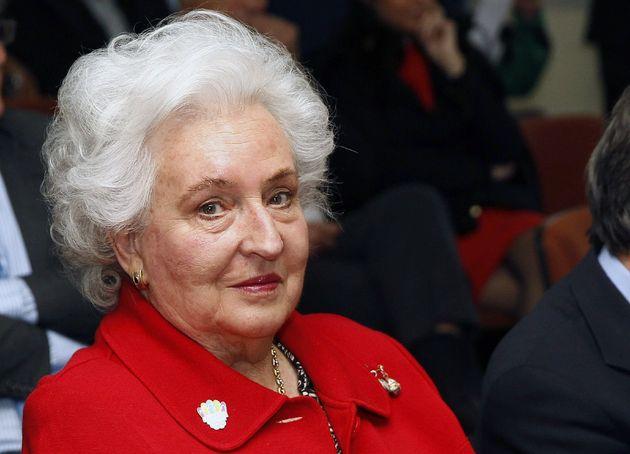 Pilar de Borbón, en una imagen de