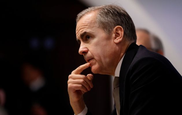 Mark Carney, governor of the Bank of England, at a BoE press conference in London, Mon. Dec. 16,