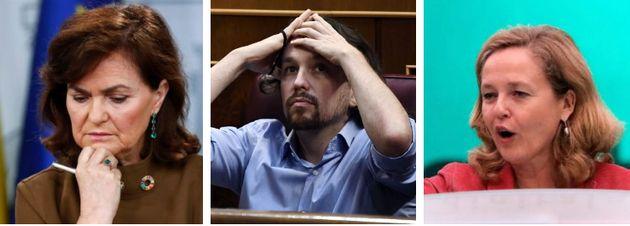 Calvo, Iglesias y