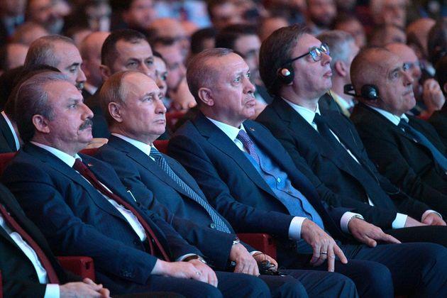O Ρώσος πρόεδρος Βλαντιμίρ...