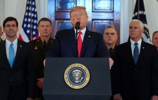 Διάγγελμα Τραμπ: Επιπλέον κυρώσεις στην Τεχεράνη εξήγγειλε ο Αμερικανός