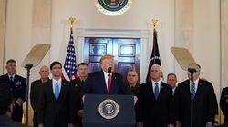 Trump anuncia nuevas sanciones económicas a Irán tras el ataque a sus bases en