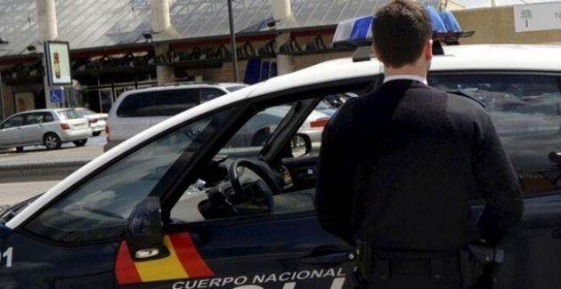 Un policía nacional, en una imagen de