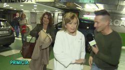 El corte de María Teresa Campos a un reportero de