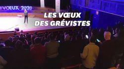 En grève, le chœur de Radio France interrompt les vœux de la PDG en entonnant