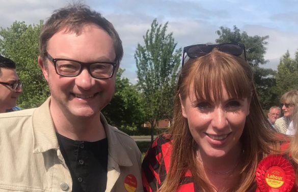 Simon Fletcher and Angela